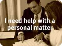 Personal legal matters