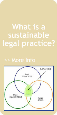 What is a Sustainable Legal Practice